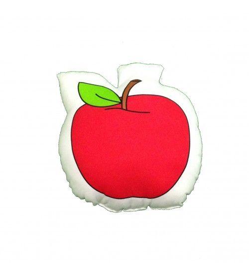 cojín manzana