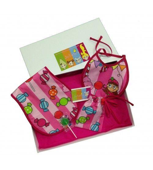 caja bebé caramelos