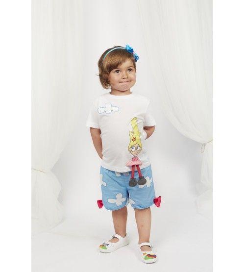 Camiseta Princesa y nube