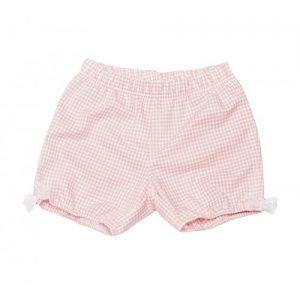 Pantalón globo vichy rosa