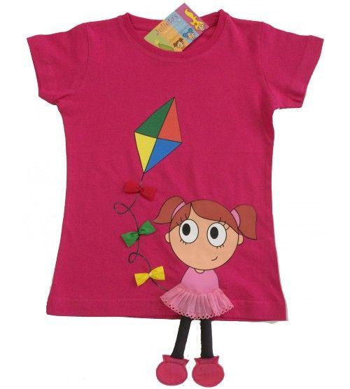 Camiseta pascuera niña