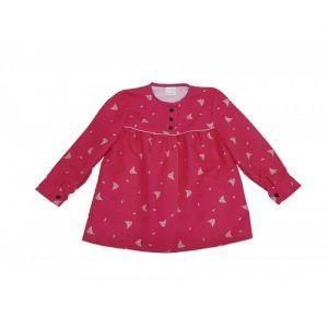 blusón adulto fucsia peinetas rosa