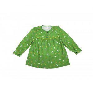 Blusón Magdalena verde infantil