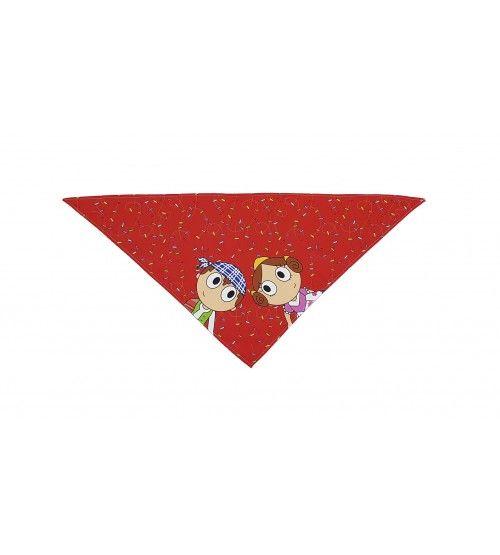 Pañuelo falleritos rojo
